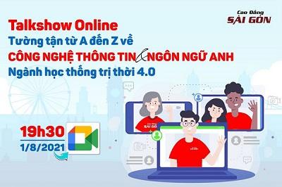 """Talk Show Online: Tường tận từ A - Z về Công nghệ thông tin và Ngôn ngữ Anh - Ngành học thống trị thời 4.0"""""""